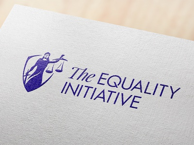 The Equality Initiative justice lady legal non profit law branding logo logotype