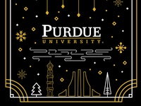 Holiday Card - Purdue University