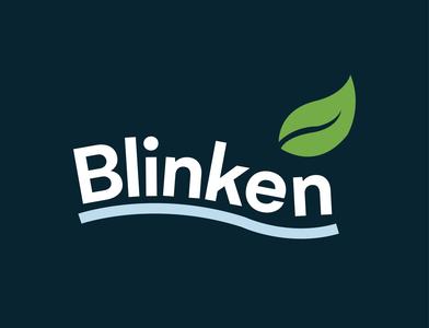 Blinken / Cleaning Company cleaning vector branding adobe illustrator logo