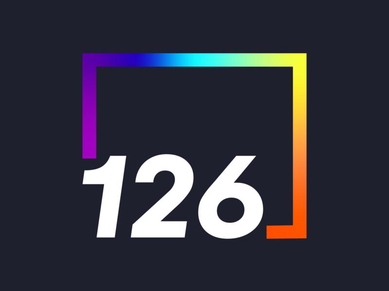 126 Pride Logo gradient logo agency logo design illustrator logo branding adobe pridemonth
