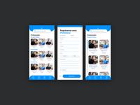 A gym sport app / Index / menus / ux trainer gym sport mobile figmadesign figma design app design app