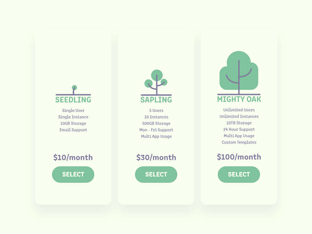 Daily UI 030 - Pricing challenge 030 pricing plan pricing page pricing typography branding website illustration web app ui design dailyui