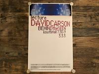David Carson Poster