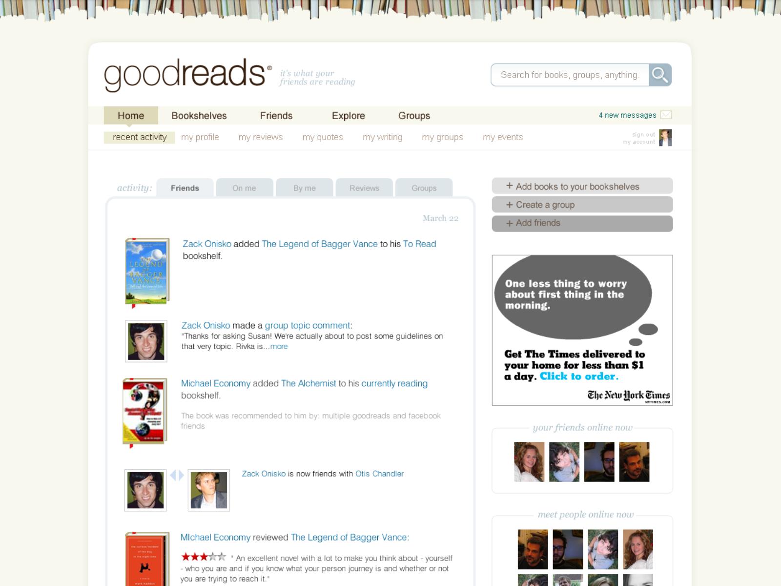 Goodreads screenshot 1600x1200