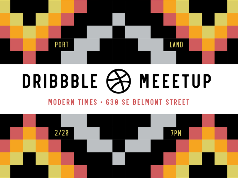Portland Dribbble Meetup good times zack laughing boastfully jody telling jokes rogie dancing with eyes closed pink basketballs meetup dribbble portlandia pdx portland