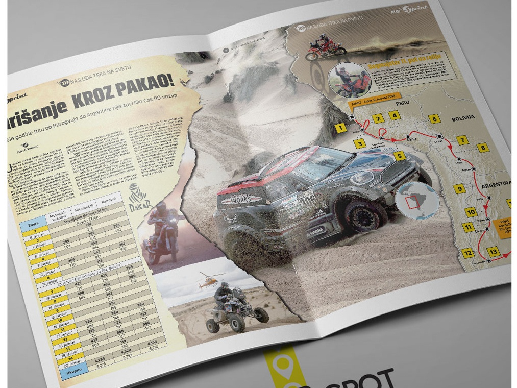 Infographic 7 Jan 4 2018 Dakar Race 2018 Main info race dakar infographic elements infography infographics information design information infographic