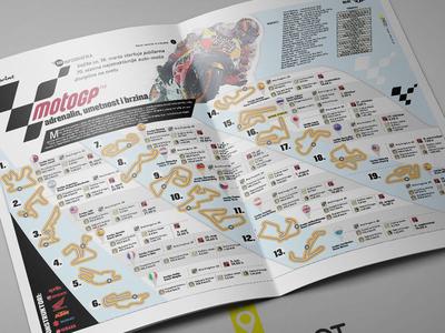 Infographic 2018 Moto Gp motogp sports information design infography infographic elements infographic design infographicsmag design infographic layout information infographics infographic