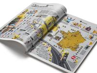 Infographic Tour De France 2018