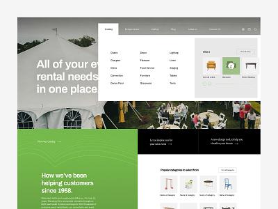 Ecommerce mega menu ecommerce design ecommerce client web design ui design