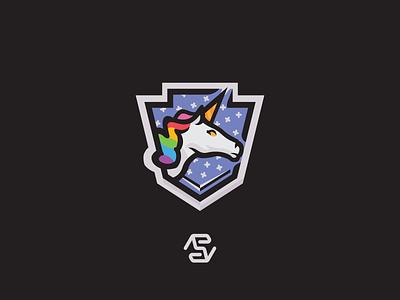 Unicorn mascot logo horses horse unicorns unicorn mascot logo mascot logo minimal design vector illustrator illustration flat