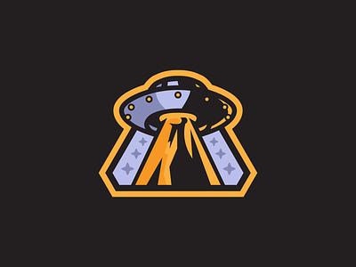 UFO Mascot Logo ufos ufo mascot logo mascot logo vector illustrator illustration flat