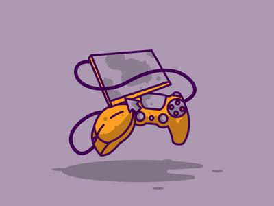 Informatics purple-yellow