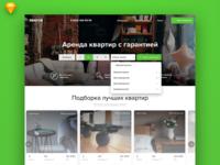 Apartments website redesign