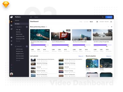 Video Platform • Dashboard