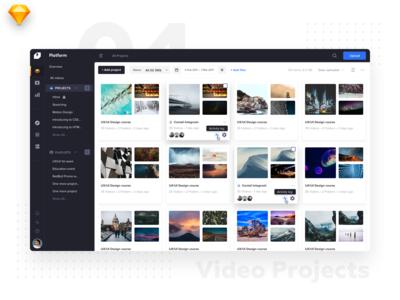 Video Platform • Video Projects