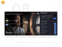 Video player settings 2x