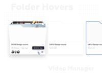 Integros Folder Hovers