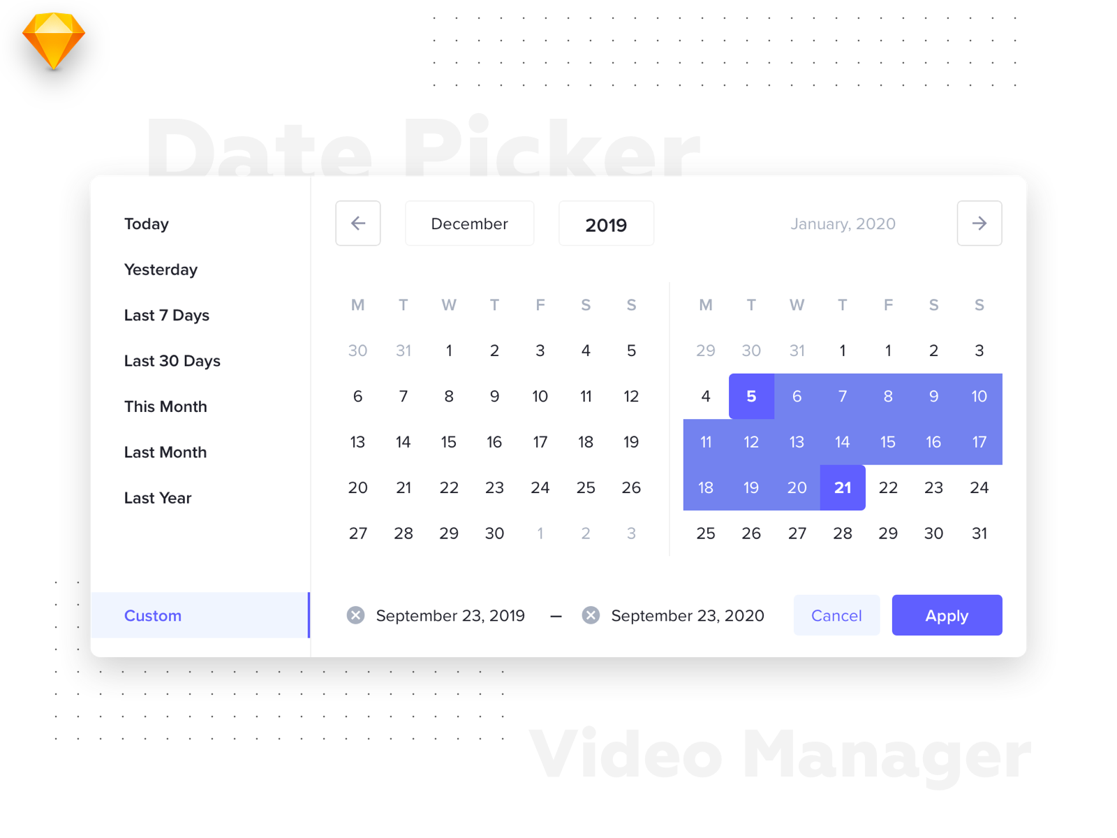 what is a date picker