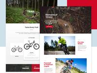 Rocky Mountain Bikes redesign
