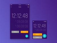 Daily UI #014 - Timer App