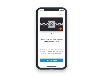 Curve Onboarding 2/3 iphone icon app ios mobile user portfolio ux ui