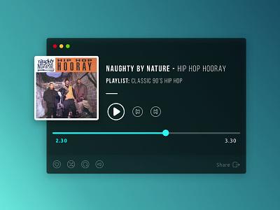 Music Player design illustration icon app dailyui ux ui