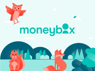 We're thrilled to reveal our new look! mobile illustration fintech ux uiux ui product app rebrand monyebox