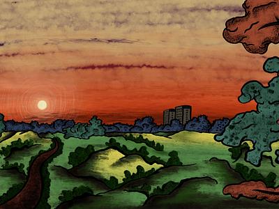 Google Arts & Culture illustration digital painting digitalart google illustraiton