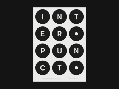 Interpunct Poster