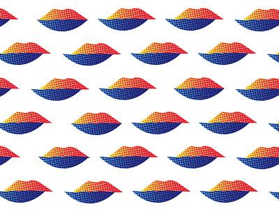 lip graphic design illustrator ui logo graphic branding web minimal vector design illustration smile lip