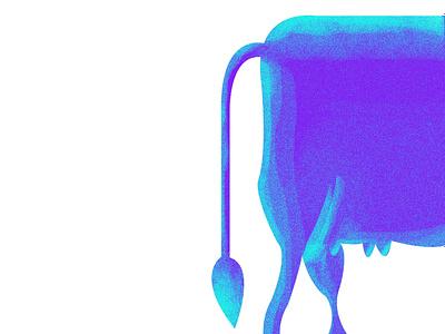 cow ui graphic design illustrator logo graphic branding web minimal vector design illustration cow