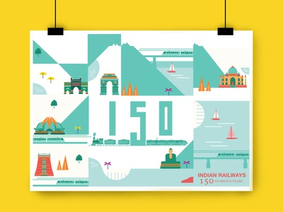 illustrated poster ui graphic design illustrator web graphic branding minimal vector design illustration