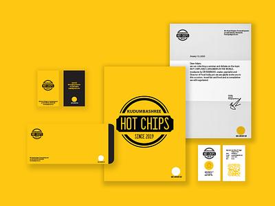 hotchips stationary website graphic design illustrator web graphic branding minimal vector design illustration