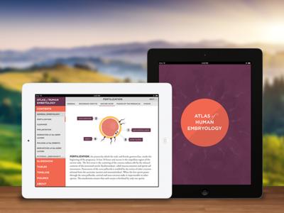Atlas of Human Embryology ipad atlas embryology medicine mobile