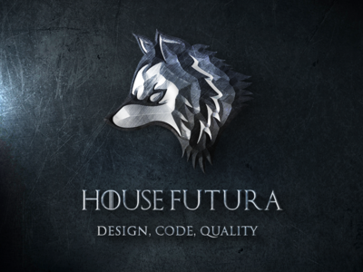 House Futura game of thrones metallic fun