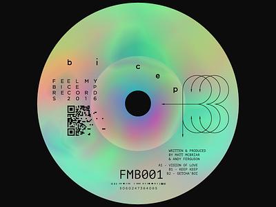 Bicep FMB001 music gym vinyl etard techno record synthol bicep