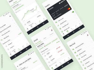 OTP Smartbank Redesign ux ui digital money bank finance banking android material popular shot popular mobile clean design figma