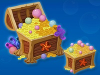 """Chests for """"Sea Quest"""" game"""