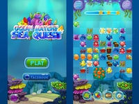 """""""Sea Quest"""" Screens"""