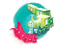 Storybook Train