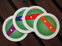 TMNT Coaster set