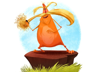 Lorax dr seuss lorax illustration character design sketch cute picture book