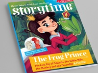 Storytime Frog Prince Cover