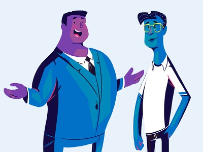 Nexmo Character Designs animation motion design character design illustration nerdy business