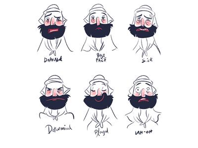 Character Sketches for #LastSelfie animation character design underpants illustration design yeahhaus lastselfie