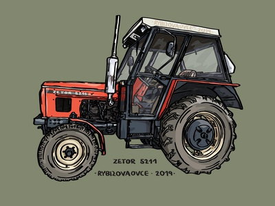 Zetor tractor 5211