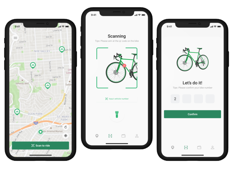 App for rent a bike. do it applications mockups login page like web typography minimal art design ux ui app design rent application mockup app