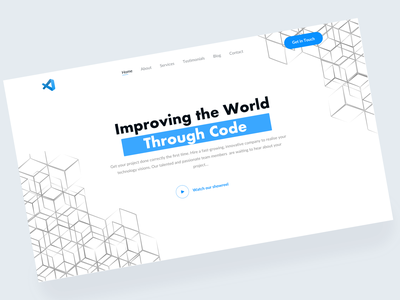Landing Page, first screen likes desinger uxdesign uidesign designer page login branding like art app web ui typography ux design