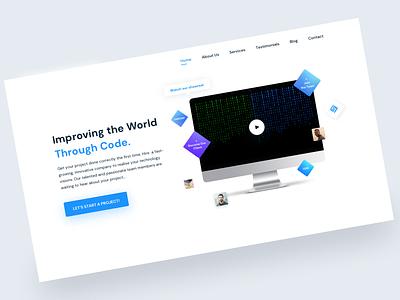 Web Development Company, landing page login development develop follow sites website code like login page likes invite minimal art app web typography ux design