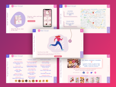 Donut Shop - Web Design